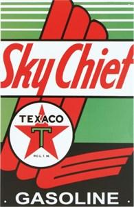 Plåtskylt/Texaco -Sky Chef, Universal
