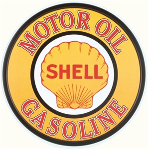 Pladeskilt/Shell Moto Oil, Universal