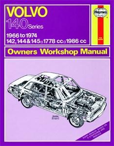 Haynes Reparationshandbok, Volvo 142, 144 & 145