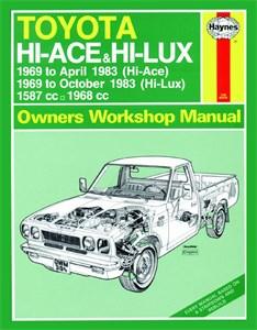 Haynes Reparationshandbok, Toyota Hi-Ace & Hi-Lux Petrol, Universal