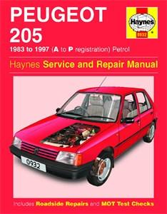 Haynes Reparationshandbok, Peugeot 205 Petrol