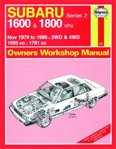 Haynes Reparationshandbok, Subaru 1600 & 1800