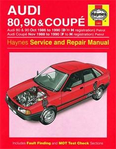 Haynes Reparationshandbok, Audi 80, 90 & Coupe Petrol
