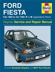 Haynes Reparationshandbok, Ford Fiesta Petrol, Universal