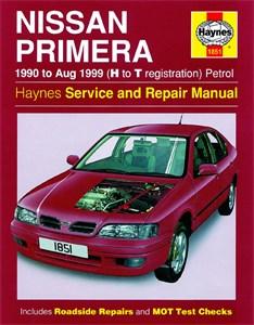 Haynes Reparationshandbok, Nissan Primera Petrol, Universal