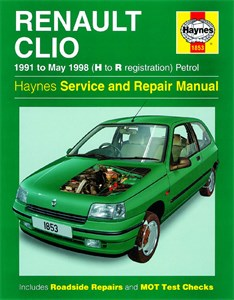 Haynes Reparationshandbok, Renault Clio Petrol, Universal