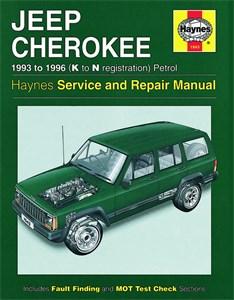 Haynes Reparationshandbok, Jeep Cherokee Petrol, Universal