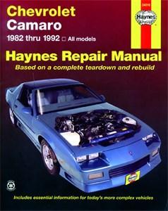 Haynes Reparationshandbok, Chevrolet Camaro