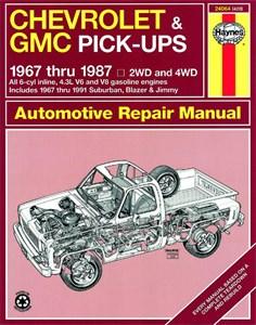 Bildel: Haynes Reparationshandbok, Chevrolet & GMC Pick-ups