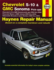 Haynes Reparationshandbok, Chevrolet S-10 & GMC Somona, Universal