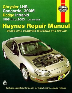 Haynes Reparationshandbok, Chrysler LHS, Concorde, 300M, Chrysler LHS, Concorde, 300M & Dodge Intrepid