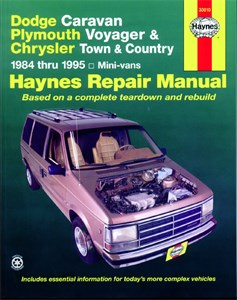 Haynes Reparationshandbok, Dodge & Plymouth Mini Vans