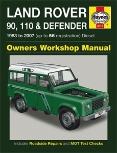 Haynes Reparationshandbok, Land Rover 90, 110 & Defender, Universal