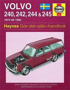 Haynes Reparationshandbok, Volvo 240, 242, 244 & 245