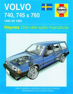 Haynes Reparationshandbok, Volvo 740, 745 & 760, Universal