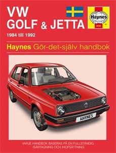 Haynes Reparationshandbok, VW Golf & Jetta II, Universal