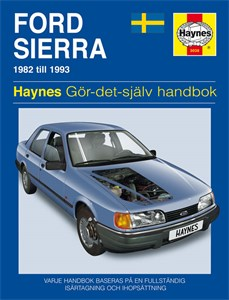Haynes Reparationshandbok, Ford Sierra, Universal