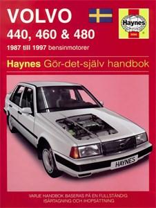 Haynes Reparationshandbok, Volvo 440, 460 & 480, Universal