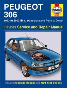 Haynes Reparationshandbok, Peugeot 306 Petrol & Diesel