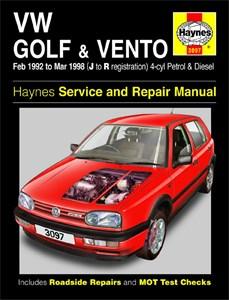 Haynes Reparationshandbok, VW Golf & Vento Petrol & Diesel