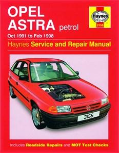 Haynes Reparationshandbok, Opel Astra Petrol, Universal