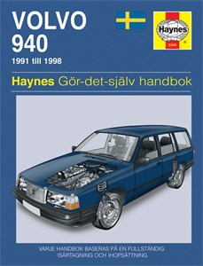 Haynes Reparationshandbok, Volvo 940, Universal