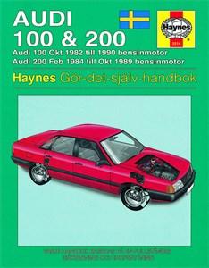 Bildel: Haynes Reparationshandbok, Audi 100 & 200