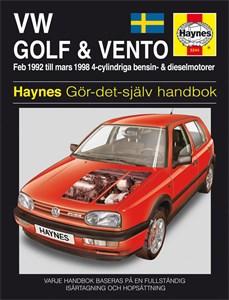 Haynes Reparationshandbok, VW Golf III & Vento, Universal