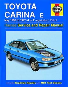 Haynes Reparationshandbok, Toyota Carina E Petrol, Universal