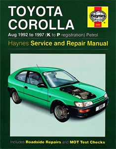 Haynes Reparationshandbok, Toyota Corolla Petrol