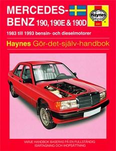 Haynes Reparationshandbok, Mercedes-Benz 190, 190E & 190D