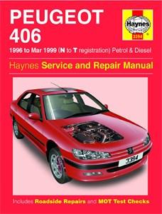 Haynes Reparationshandbok, Peugeot 406 Petrol & Diesel