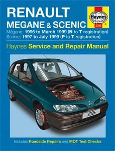 Haynes Reparationshandbok, Renault Mégane & Scénic, Renault Mégane & Scénic Petrol & Diesel