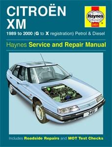 Haynes Reparationshandbok, Citroën XM Petrol & Diesel
