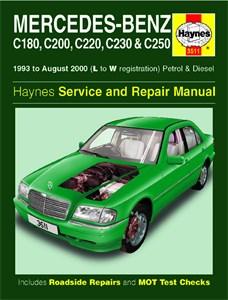 Reservdel:Mercedes C 240 Haynes Reparationshandbok, Mercedes-Benz C-Class, Universal
