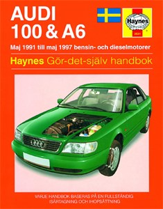 Bildel: Haynes Reparationshandbok, Audi 100 & A6, Universal