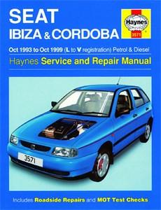 Haynes Reparationshandbok, Seat Ibiza & Cordoba, Seat Ibiza & Cordoba Petrol & Diesel