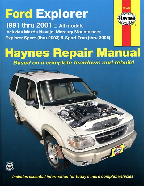 haynes reparationshandbok ford explorer sport 03 trac 05 universal 24 89. Black Bedroom Furniture Sets. Home Design Ideas