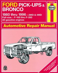 Haynes Reparationshandbok, Ford Pick-ups & Bronco
