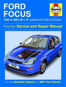 Haynes Reparationshandbok, Ford Focus Petrol & Diesel, Universal