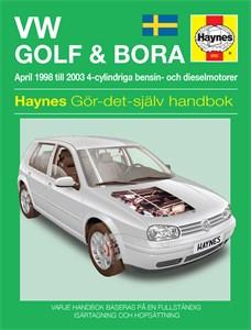 Haynes Reparationshandbok, VW Golf IV & Bora, Universal