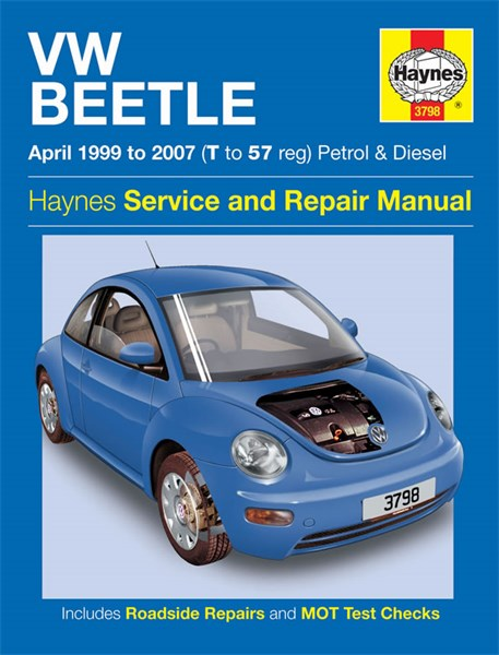 haynes reparationshandbok vw beetle petrol diesel. Black Bedroom Furniture Sets. Home Design Ideas