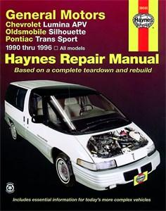 Bildel: Haynes Reparationshandbok, GM: Lumina APV, Trans Sport, GM: Lumina APV, Silhouette, Trans Sport