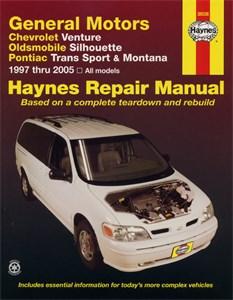 Haynes Reparationshandbok, GM: Venture, Trans Sport, GM: Venture, Silhouette, Trans Sport, Montana