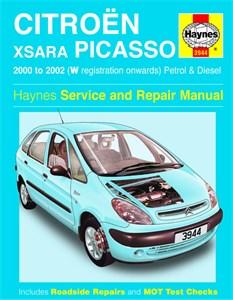 Haynes Reparationshandbok, Citroën Xsara Picasso, Citroën Xsara Picasso Petrol & Diesel