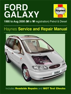 Haynes Reparationshandbok, Ford Galaxy Petrol & Diesel. Reparasjonsbok, Ford - Haynes Reparationshandbok, Ford Galaxy Petrol & Diesel fra