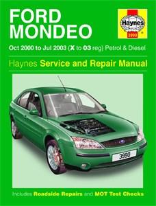 Haynes Reparationshandbok, Ford Mondeo Petrol & Diesel, Universal