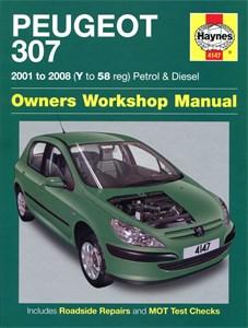 Haynes Reparationshandbok, Peugeot 307 Petrol & Diesel