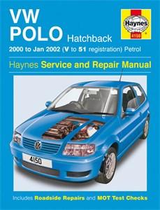 Haynes Reparationshandbok, VW Polo Hatchback Petrol, Universal
