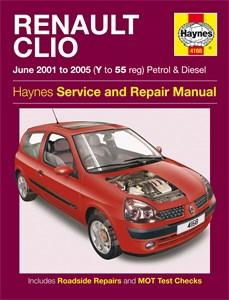 Haynes Reparationshandbok, Renault Clio Petrol & Diesel